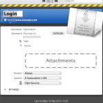 Login Creation Dialog Box in iPassword by AgileBits